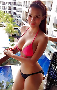 Asian girls and bimbos with big and small tits