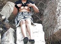 Mixed desi outdoor nudes