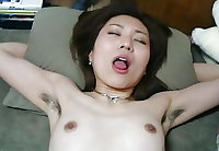 More Asian girls showing hairy armpits plus