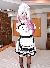 Japanese cosplay girl fucked