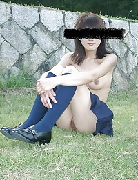 Japanese Girl Public Nudity 14