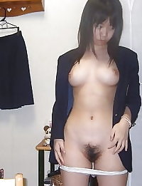 Lovely & Cute Japanese girls pussy selfies part-1