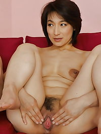 So hairy, warm and welcoming asian pussies