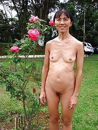 Tiny tit asians