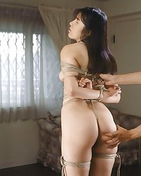 White panties 25:Japanese bondage.