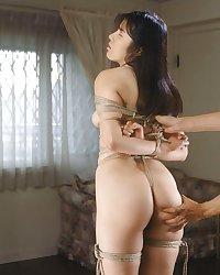 White panties 25:Japanese bondage.
