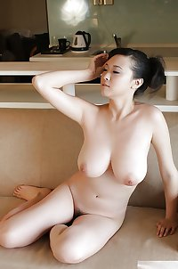 The Beauty of Big Tits Hairy Asian