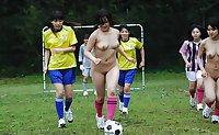 Japanese high school girls training