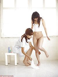 Beautiful Japanese Lesbians #4