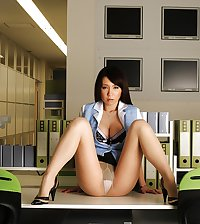 Sexy Japanese Office Lady