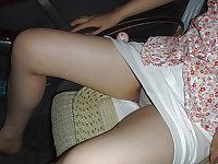 Cute Korean Girlfriend filthy spreading legs
