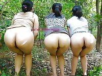 Sweet Asian butts