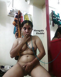 HORNY MANGLA BHABI-INDIAN DESI PORN SET 1.7