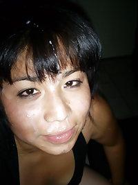 FANTASTIC ASIAN,milf ,cum,facial and creampie,amateur only