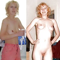 And nude before after Amateur Nude