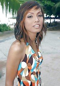 Asian Ladyboy Beam